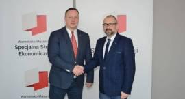 Współpraca Samorządu Przasnyskiego z W-M SSE