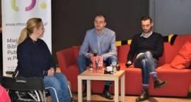 Sebastian Staszewski w MBP - relacja ze spotkania