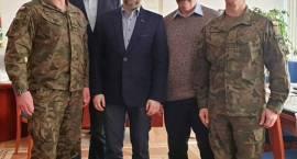 """Zobacz w jakiej sprawie odbyło się spotkanie z dowództwem ciechanowskich """"terytorialsów"""""""