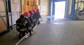 Pożar w fabryce rowerów Kross w Przasnyszu – ćwiczenia Straży Pożarnej