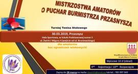 Mistrzostwa Amatorów Tenisa Stołowego o Puchar Burmistrza Przasnysza