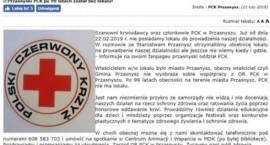 Cała prawda o siedzibie PCK - wyjaśnienia Wójta Gminy Przasnysz