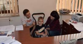 Odwiedziny Eryka Krzykowskiego i jego rodziców