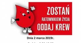 Jednorożec: Akcja honorowego oddawania krwi - zaproszenie