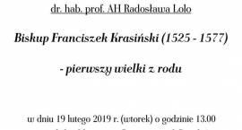 Wykład dr hab. Radosława Lolo nt.