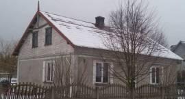Pożar w pomieszczeniu kuchni budynku mieszkalnego w Lipie