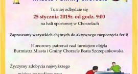 Turniej Tenisa Stołowego o Puchar Burmistrza Miasta i Gminy Chorzele - zaproszenie