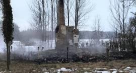 Pożar niezamieszkałego budynku jednorodzinnego w Chorzelach