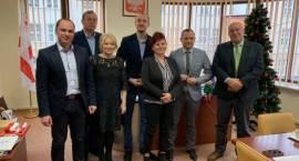 Spotkanie wszystkich burmistrzów i wójtów z powiatu przasnyskiego