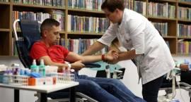 Nasz News: Dali cząstkę siebie, czyli zbiórka krwi dla Dominika