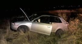 Wypadek samochodu osobowego w miejscowości Sierakowo