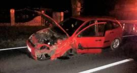 Wypadek trzech samochodów osobowych w miejscowości Klewki