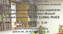 Kawiarenka Językowa w Bibliotece - zaproszenie