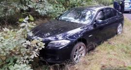 Wypadek samochodu osobowego w miejscowości Jarzynny Kierz