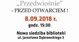 Narodowe Czytanie w nowej siedzibie Biblioteki - zaproszenie