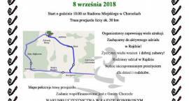 Rajd Rowerowy dla Niepodległej w Chorzelach - zaproszenie