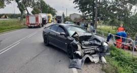 Wypadek dwóch samochodów osobowych w miejscowości Sierakowo