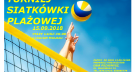 Turniej Siatkówki Plażowej - zaproszenie