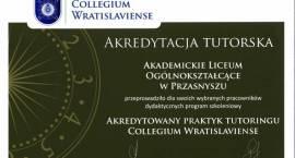 Akredytacja Tutorska dla Akademickiego Liceum Ogólnokształcącego