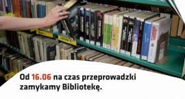 Inauguracja Wielkiej Przeprowadzki Miejskiej Biblioteki - zaproszenie
