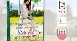 Spotkanie autorskie z Iloną Gołębiewską - zaproszenie