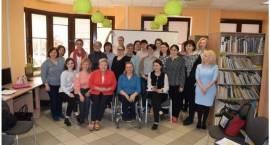 Wizyta studyjna bibliotekarek z Mołdawii