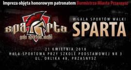 VI Gala Sportów Walki SPARTA - zaproszenie