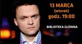 Spotkanie autorskie z Szymonem Hołownią - zaproszenie