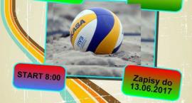 I Turniej Plażowej Piłki Siatkowej - zaproszenie