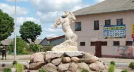 """Odsłonięcie pomnika """"Jednorożca"""" w Jednorożcu (ZDJĘCIA)"""