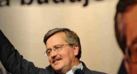 Prezydentem został Bronisław Komorowski