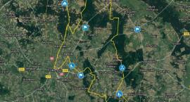 Zobacz mapę szlaku rowerowego