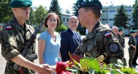 Uroczysta przysięga wojskowa żołnierzy służby przygotowawczej