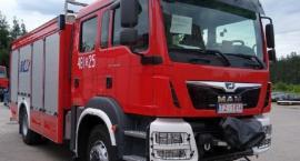 Ten ciężki samochód ratowniczo - gaśniczy trafił do przasnyskich Strażaków