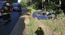 Wypadek w miejscowości Klin. Jedna osoba poszkodowana