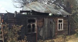 Pożar pustostanu w Fijałkowie