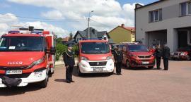 Nowe pojazdy trafiły do przasnyskich strażaków