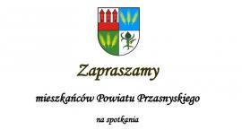 Spotkanie ze Starostą i Parlamentarzystami - zaproszenie