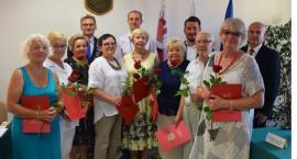 Podziękowali członkom II kadencji Rady Seniorów