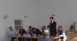 Starosta Przasnyski i Parlamentarzyści spotkali się z mieszkańcami w Czernicach Borowych