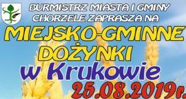 Chorzele: Miejsko-Gminne Dożynki w Krukowie [Program]