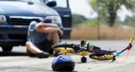 14-letnie dziecko pod kołami auta. Było sprawcą wypadku.