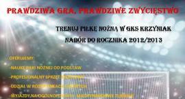 Trenuj piłkę w GKS Krzyniak - trwa nabór