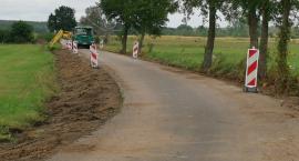 Trwa przebudowa drogi w Osówcu Szlacheckim