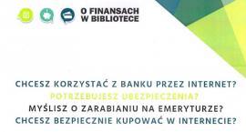 O finansach w.... Bibliotece w Czernicach Borowych