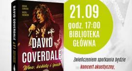 Wino, kobiety i śpiew - spotkanie z autorami biografii muzycznej Davida Coverdalea