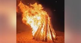 Wspólnie przy ognisku podczas 28. Dni Chorągwi Mazowieckiej ZHP [Wideo]