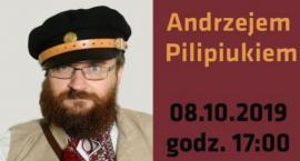 Spotkanie autorskie z Andrzejem Pilipiukiem - zaproszenie