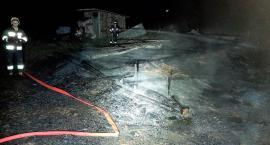 Pożar strawił budynek gospodarczy w Ulatowo Pogorzel