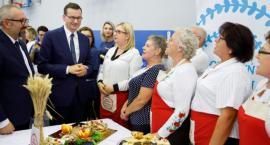 Premier Mateusz Morawiecki wziął udział w spotkaniu z seniorami pod hasłem #AktywnySeniorPlus w Przasnyszu